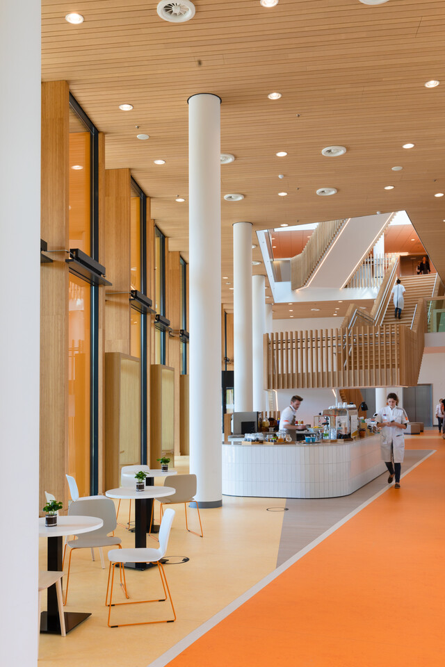 Gispen healthcare project Princess Ma xima center for pediatric oncology in Utrecht 00A0153