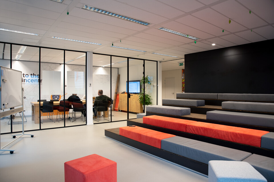 Gispen office project Incentro in Utrecht CVDB5571