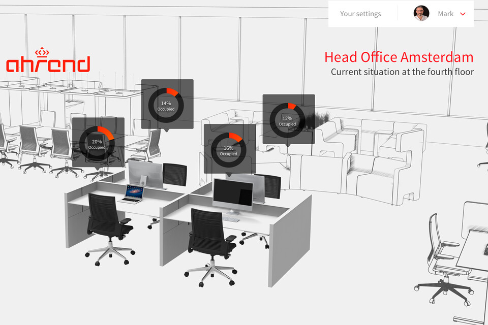 EN Ahrend Smart office factbased insights screencapture