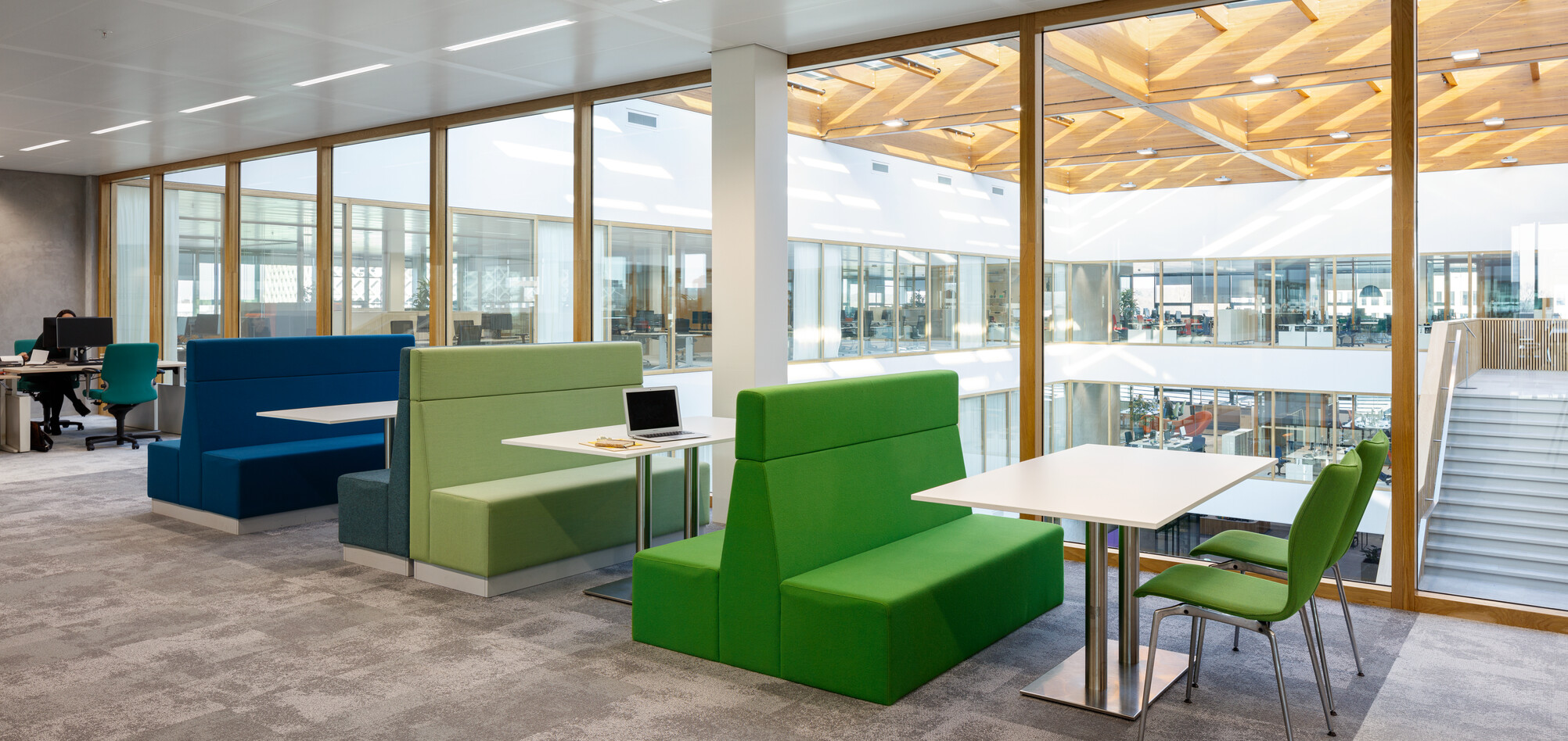 Royal Ahrend office project Unilever in Wageningen SP15