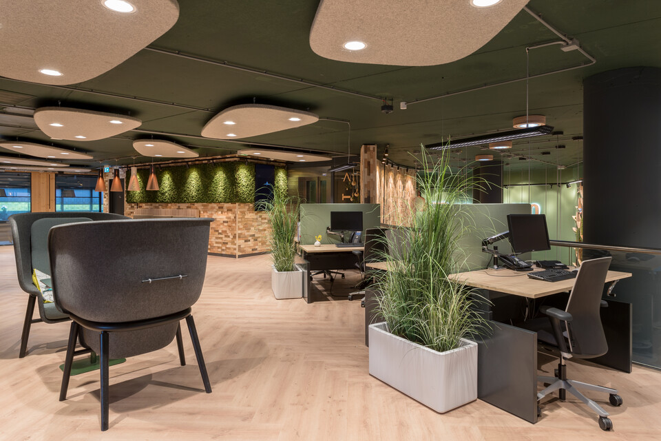 Gispen office project ABN AMRO in Amstelveen ZW27