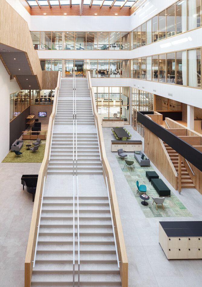 Royal Ahrend office project Unilever in Wageningen SP13