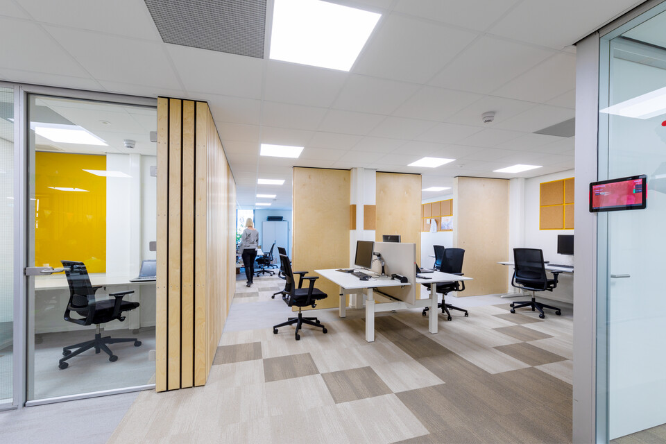 Gispen office project Medecins Sans Frontieress in Amsterdam 00A2179