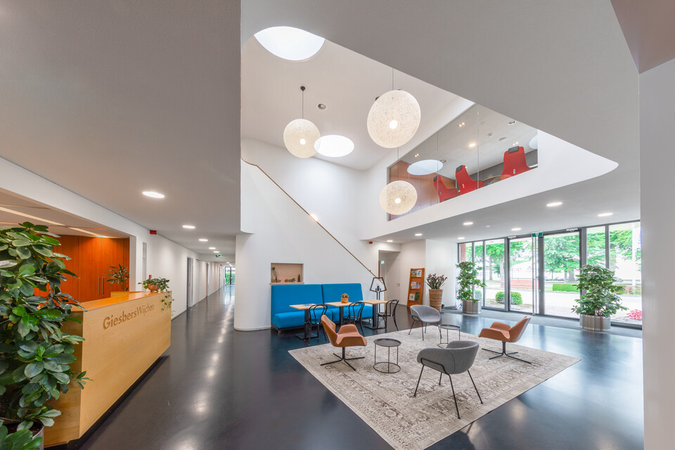 Gispen office project Giesbers ontwikkelen en bouwen in Wijchen 00A7454