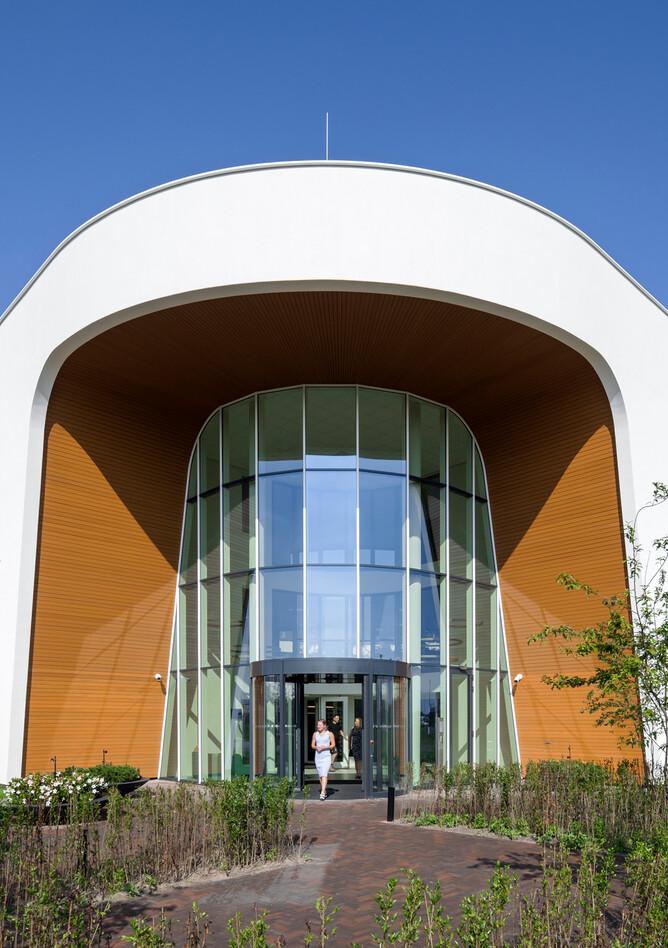Royal Ahrend healthcare project exterior view of Oogcentrum Noordholland in Heerhugowaard SB200607