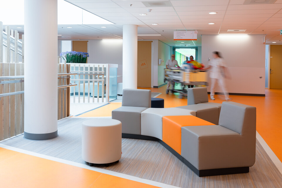 Gispen healthcare project Princess Ma xima center for pediatric oncology in Utrecht 00A0120