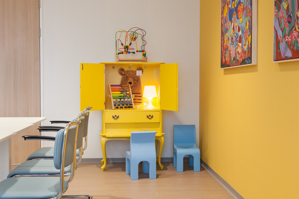 Gispen healthcare project St Antonius hospital birth center in Utrecht RG7543