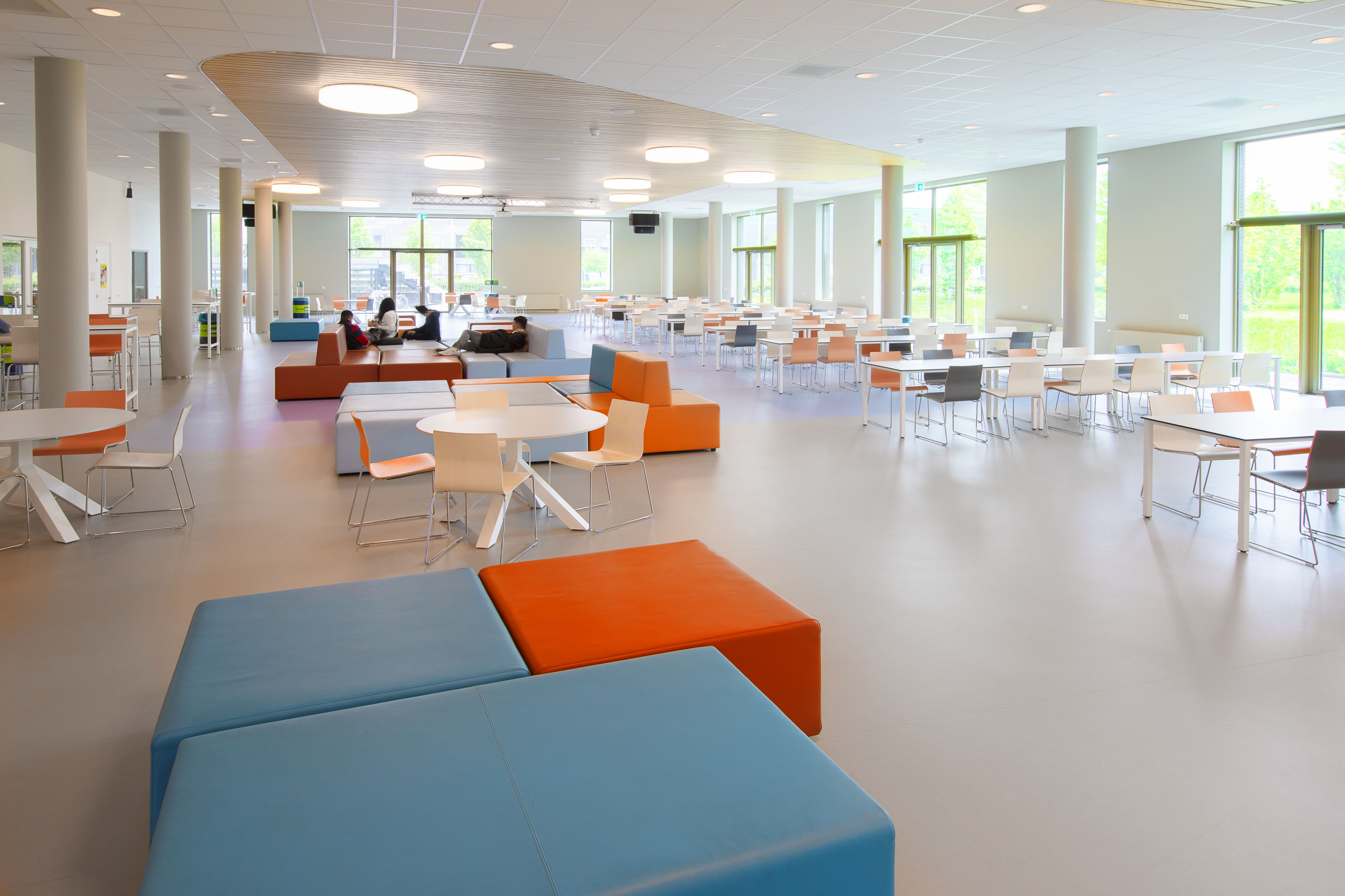 Gispen education project VOLT  in Vleuten 00A7130