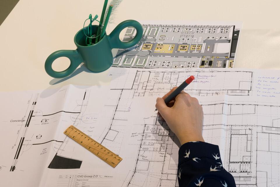 Gispen service interior design 00A6980