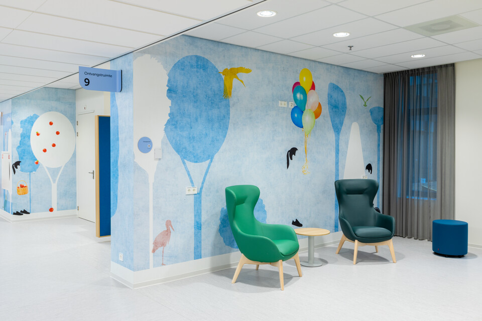 Gispen healthcare project Amphia in Breda 00A1986
