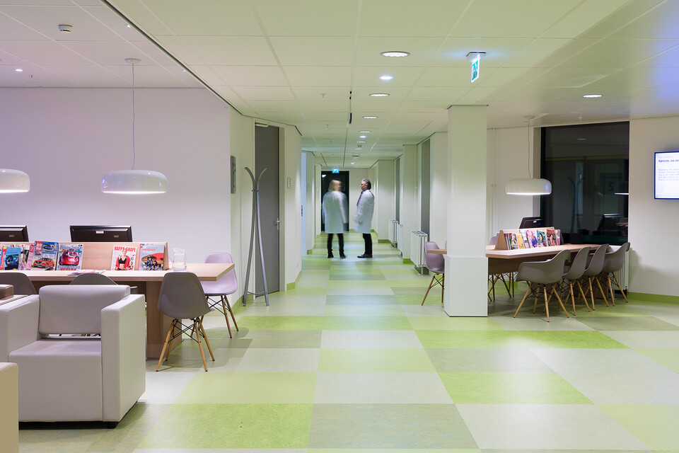 Gispen healthcare project Rijnstate hospital in Arnhem 00A9792