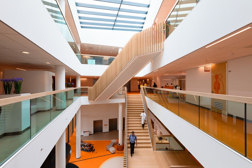 Gispen healthcare project Princess Ma xima center for pediatric oncology in Utrecht 00A0125