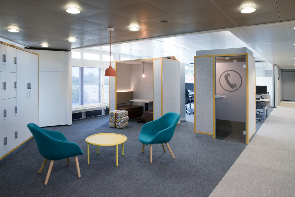Gispen office CE project ABN AMRO in Amsterdam 00A3083