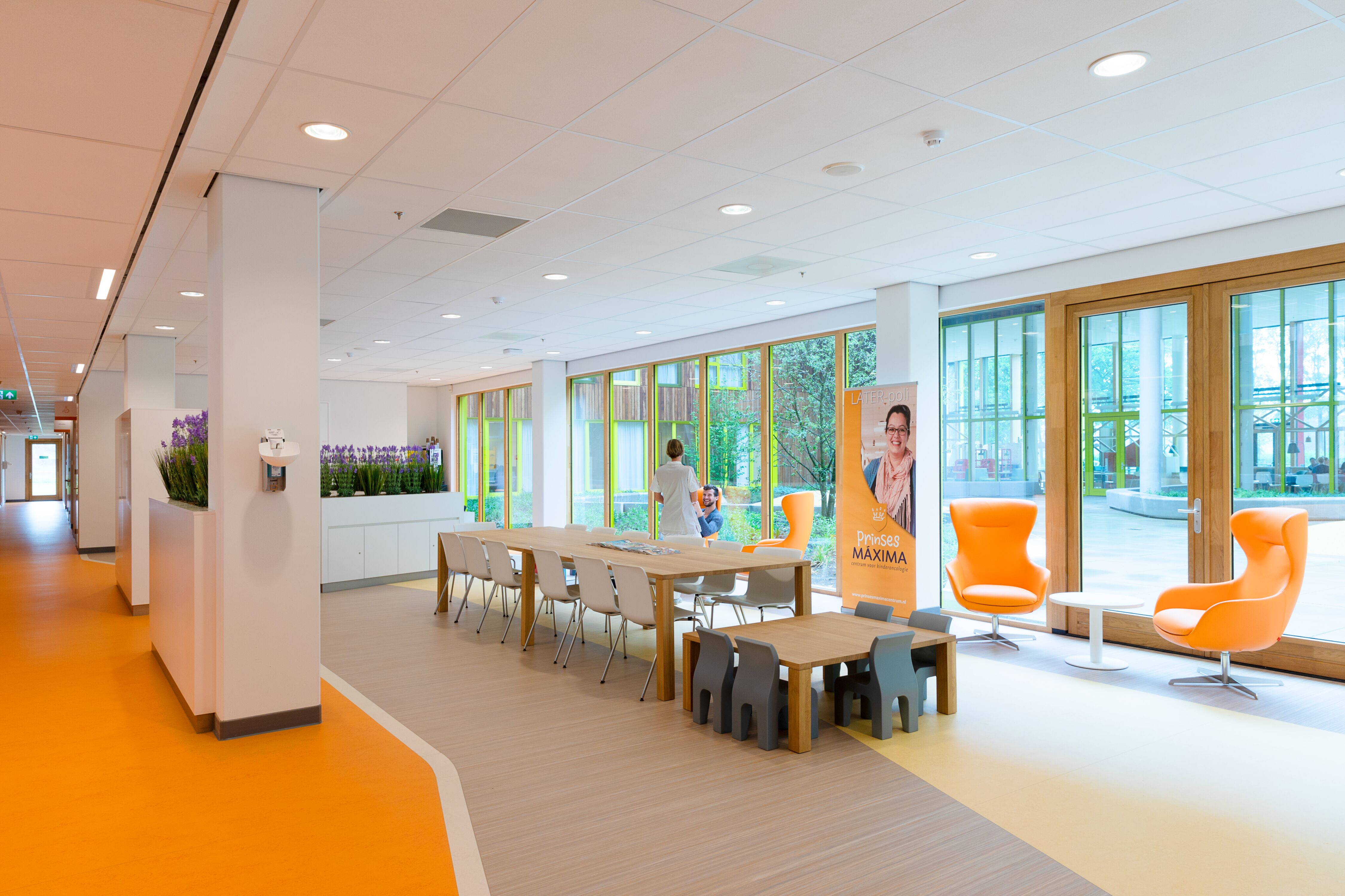 Gispen healthcare project Princess Ma xima center for pediatric oncology in Utrecht 00A0034