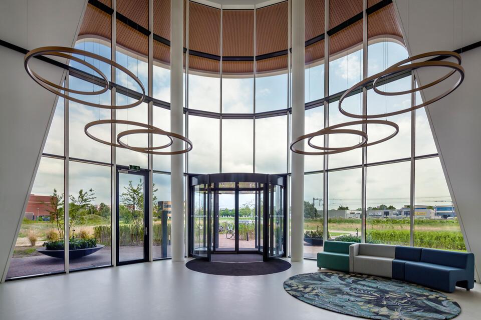 Royal Ahrend healthcare project interior view of Oogcentrum Noordholland in Heerhugowaard SB200608