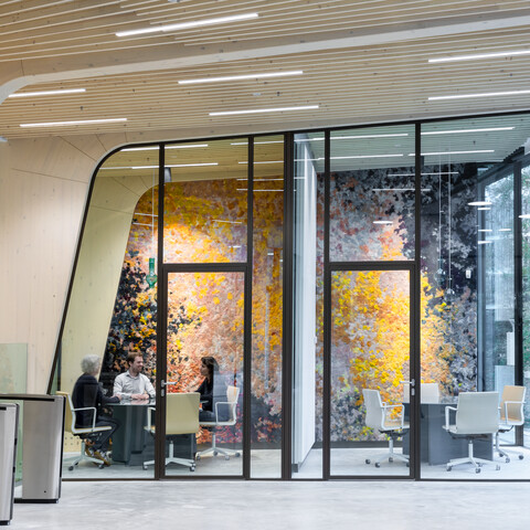 Gispen office project Triodos Bank in Driebergen 00A2355