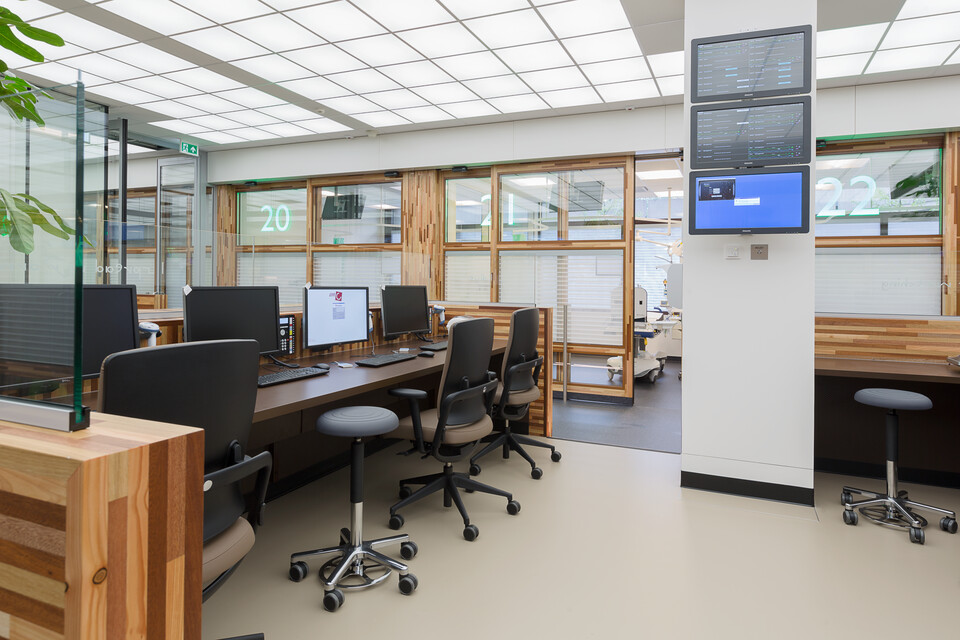Gispen healthcare project AMC Academic Medical Center in Amsterdam K5B9907