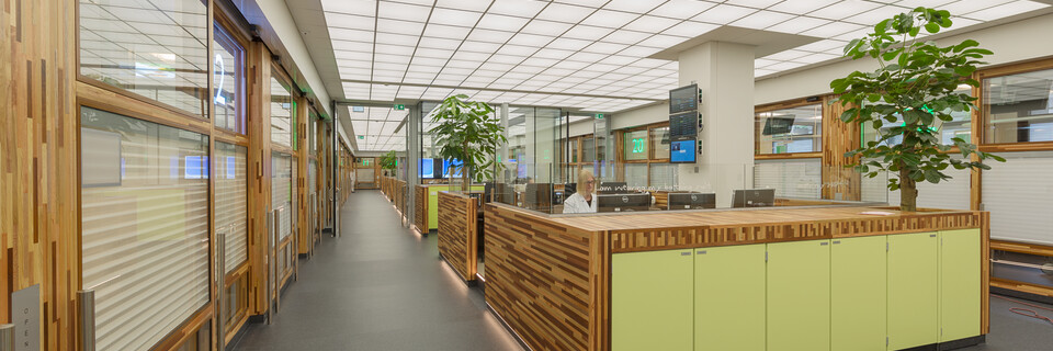 Gispen healthcare project AMC Academic Medical Center in Amsterdam K5B9884