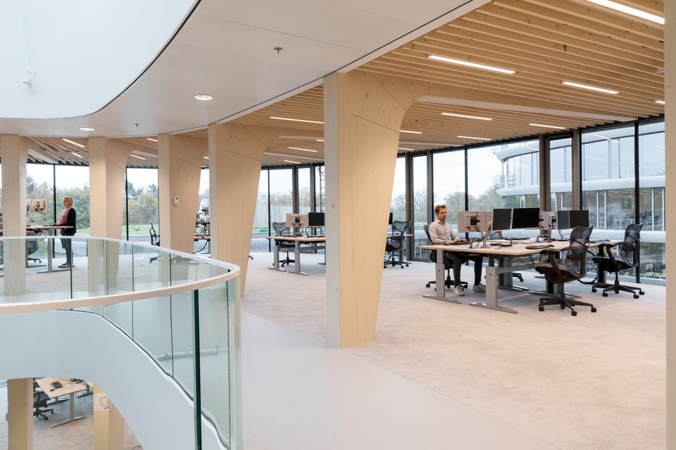 Gispen office project Triodos Bank in Driebergen 00A2252