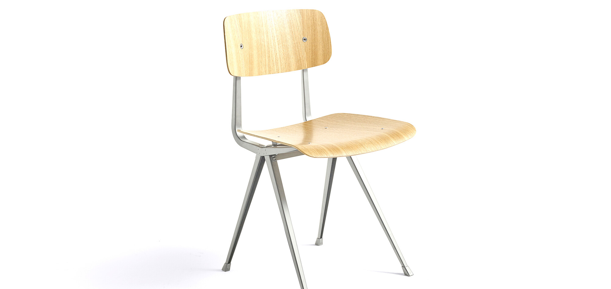 197161_Result Chair_Frame beige_Seat Back clear lacquered oak