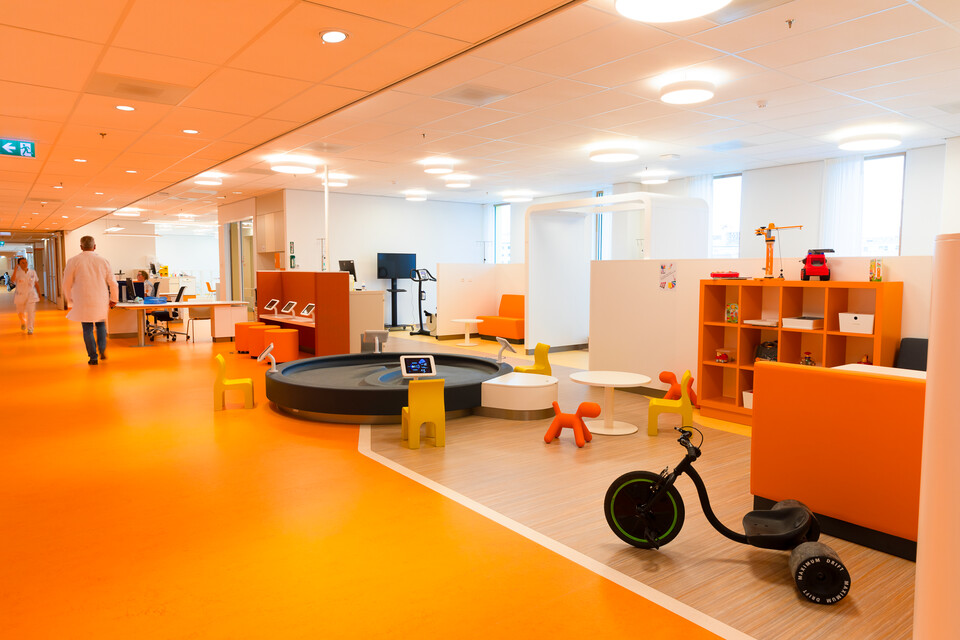 Gispen healthcare project Princess Ma xima center for pediatric oncology in Utrecht 00A0075