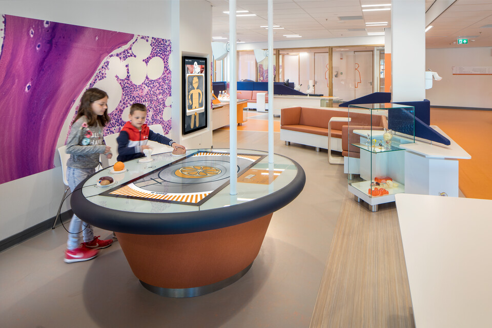 Gispen healthcare project Princess Ma xima center for pediatric oncology in Utrecht EH002