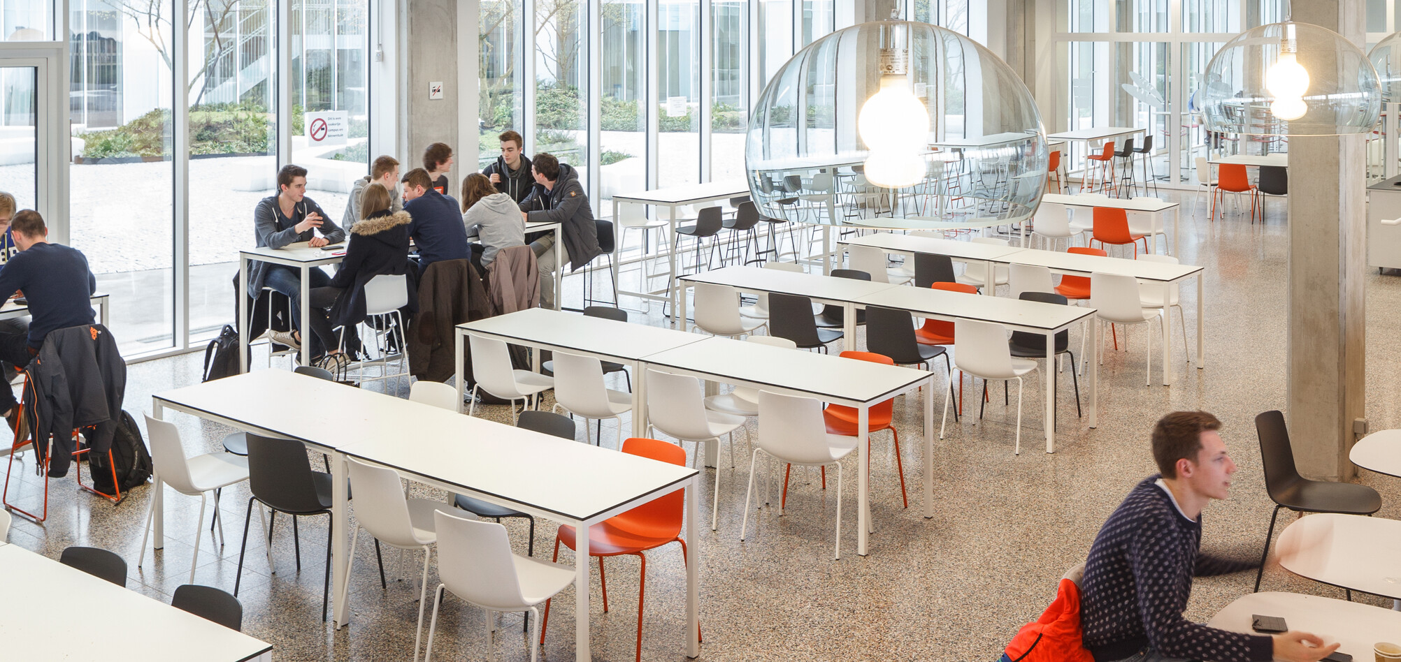 Royal Ahrend education project Artesis Plantijn University College Antwerp in Antwerpen 16