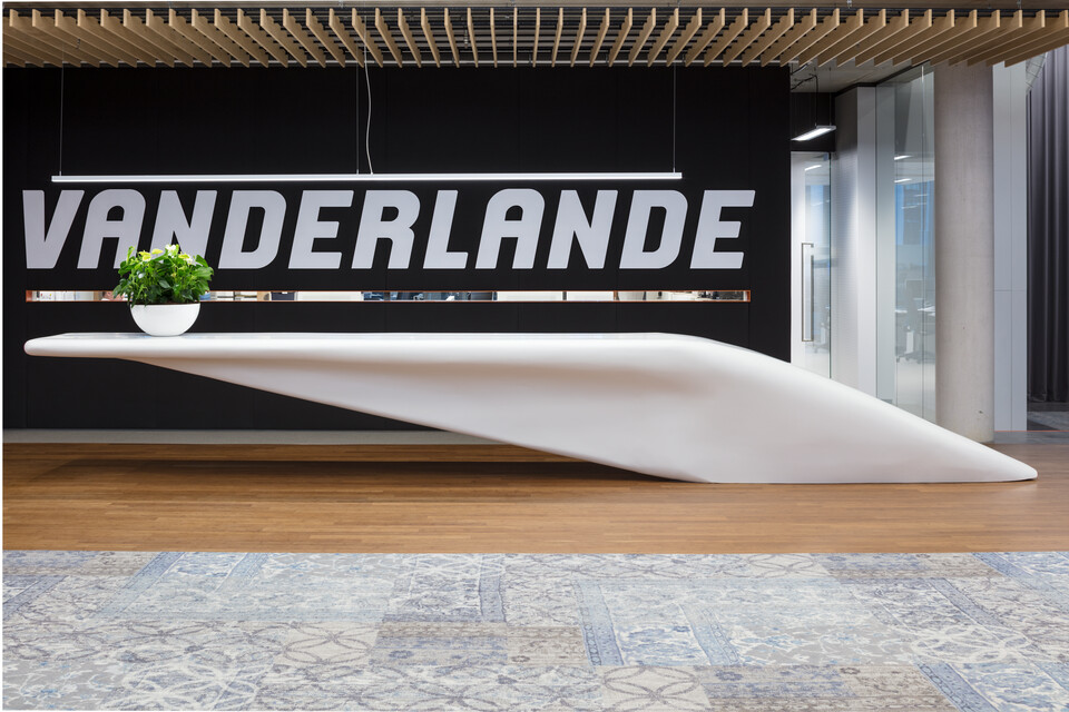 Royal Ahrend office project Vanderlande in Veghel 017