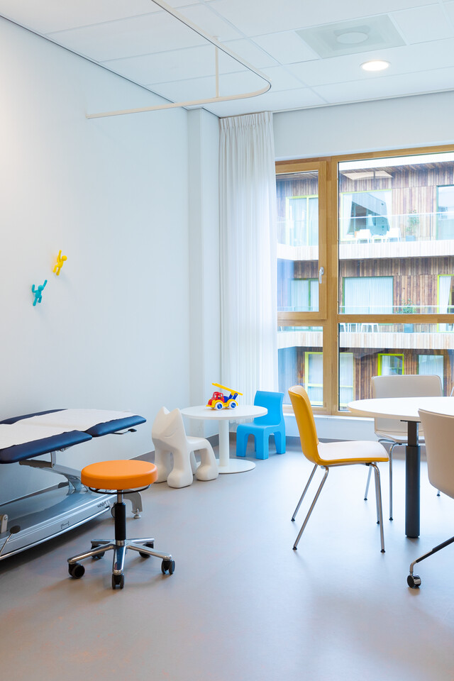 Gispen healthcare project Princess Ma xima center for pediatric oncology in Utrecht 00A0129