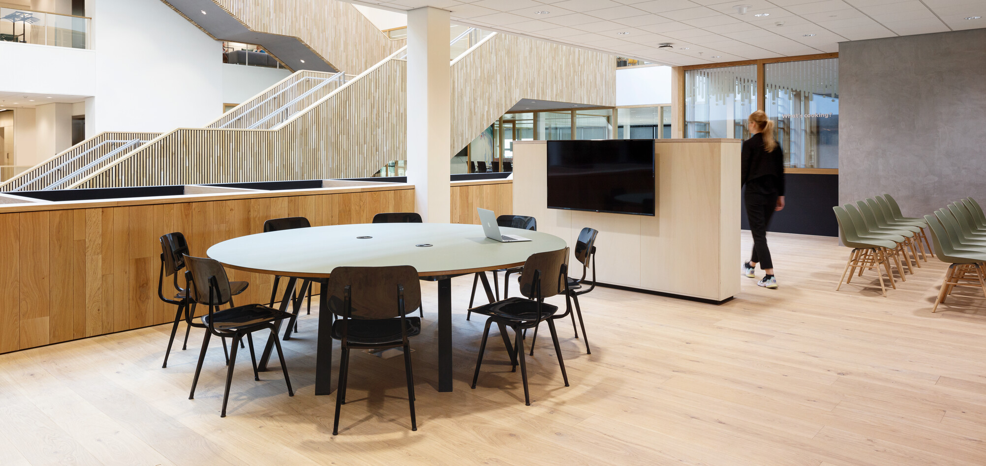 Royal Ahrend office project Unilever in Wageningen SP10