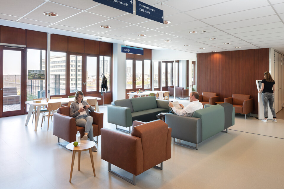 Royal Ahrend healthcare project Erasmus MC in Rotterdam 13