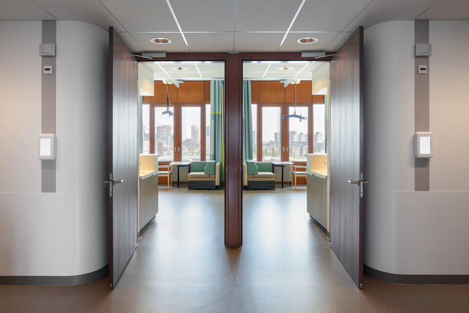 Royal Ahrend healthcare project Erasmus MC in Rotterdam 27
