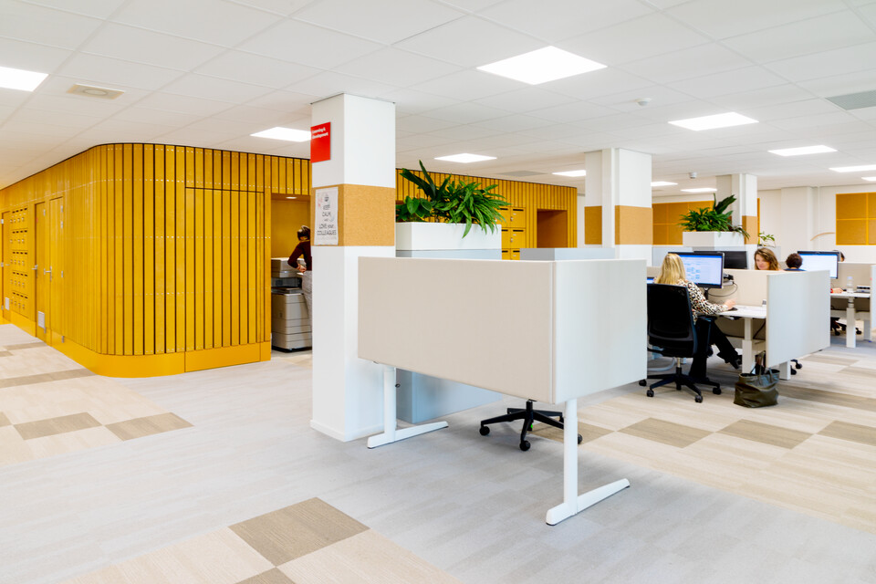 Gispen office project Medecins Sans Frontieress in Amsterdam 00A2168