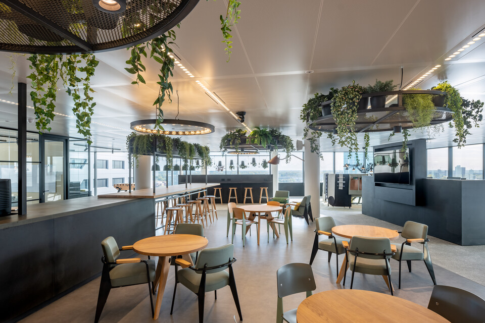 Gispen office project Navigant in Utrecht OD286