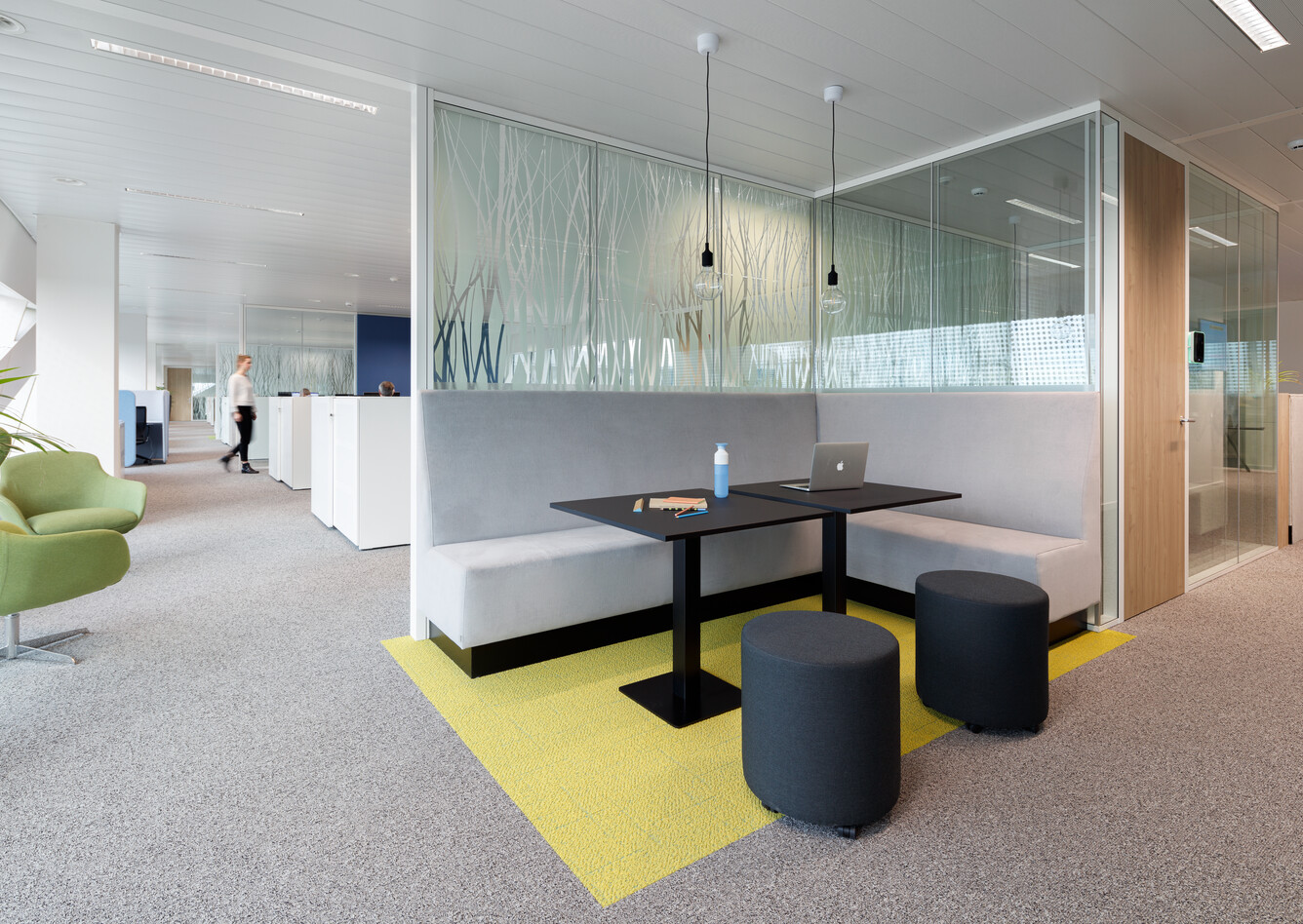Royal Ahrend office project NMBS in Gent interior view SP9