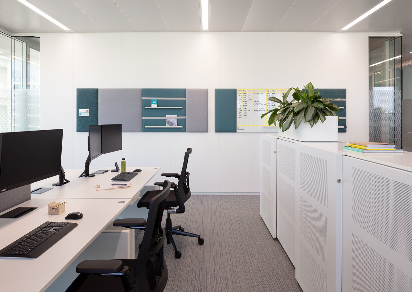 Royal Ahrend office project Genmab in Utrecht SP11