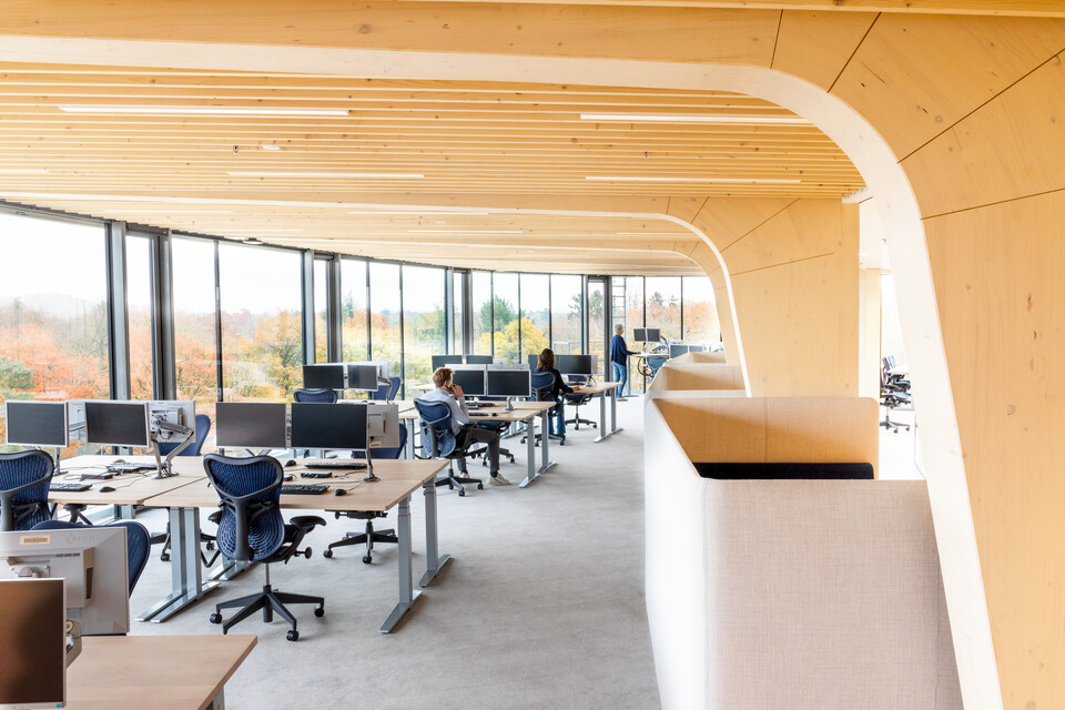 Gispen office project Triodos Bank in Driebergen 00A2329