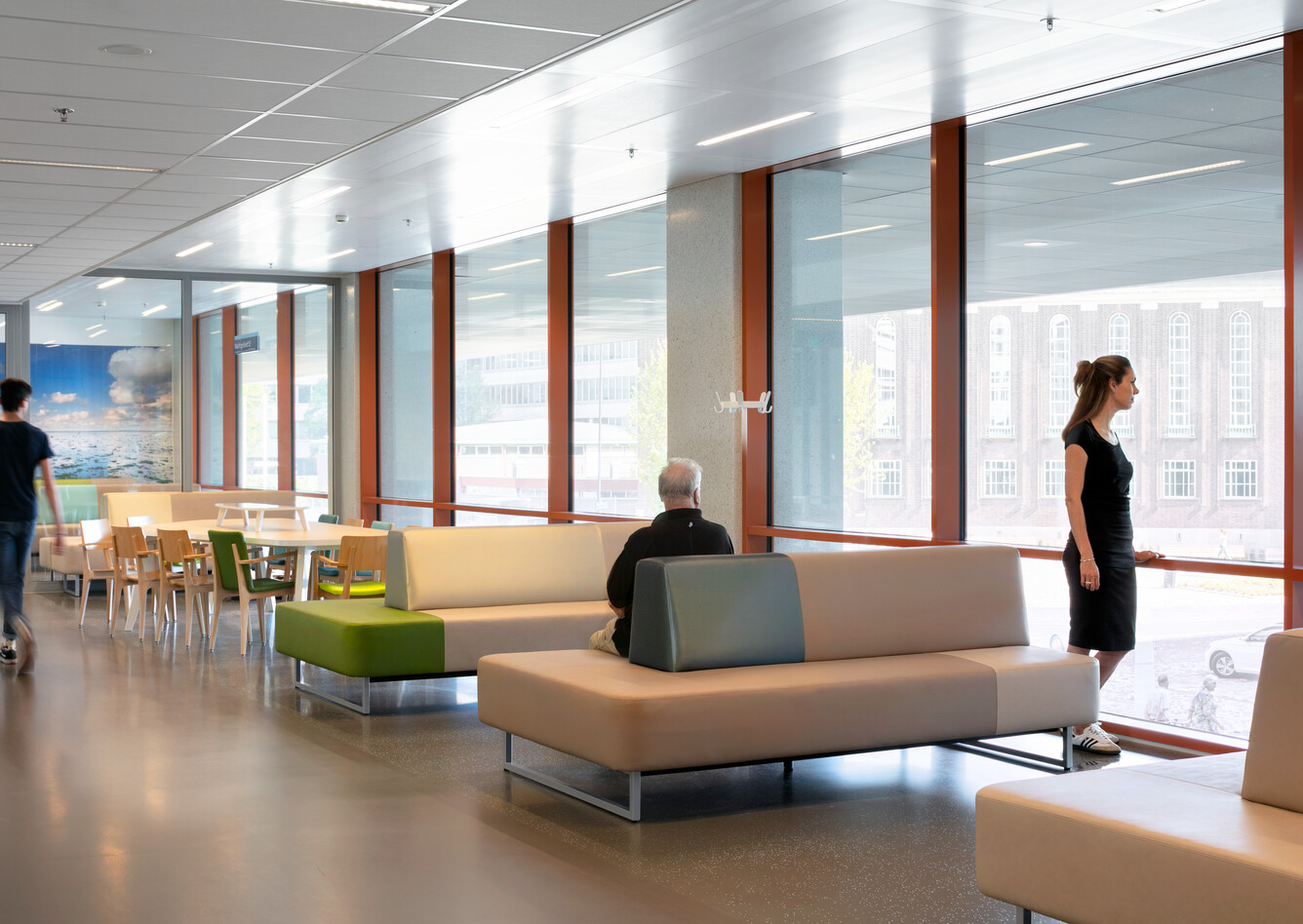 Royal Ahrend healthcare project Erasmus MC in Rotterdam 18
