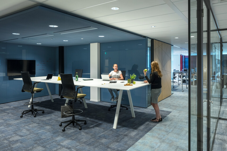 Royal Ahrend office project Aegon in Leeuwarden 05A