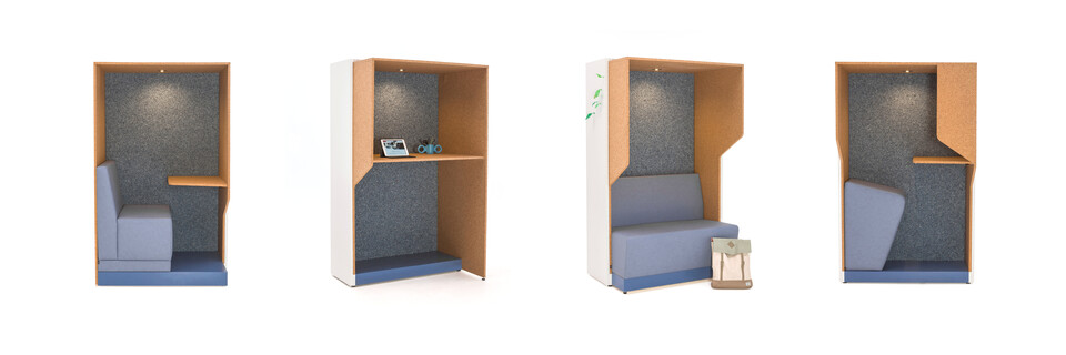 Gispen Remade flexible workspaces collection