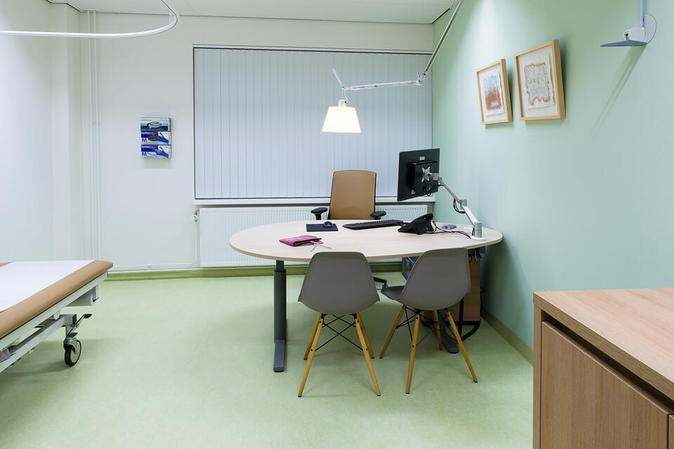 Gispen healthcare project Rijnstate hospital in Arnhem 00A9794