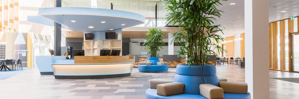 Gispen healthcare project Reinier de Graaf hospital in Delft K5B0620
