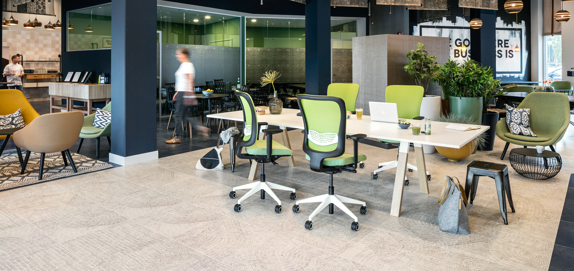 Royal Ahrend office project Tribes in Eindhoven 001