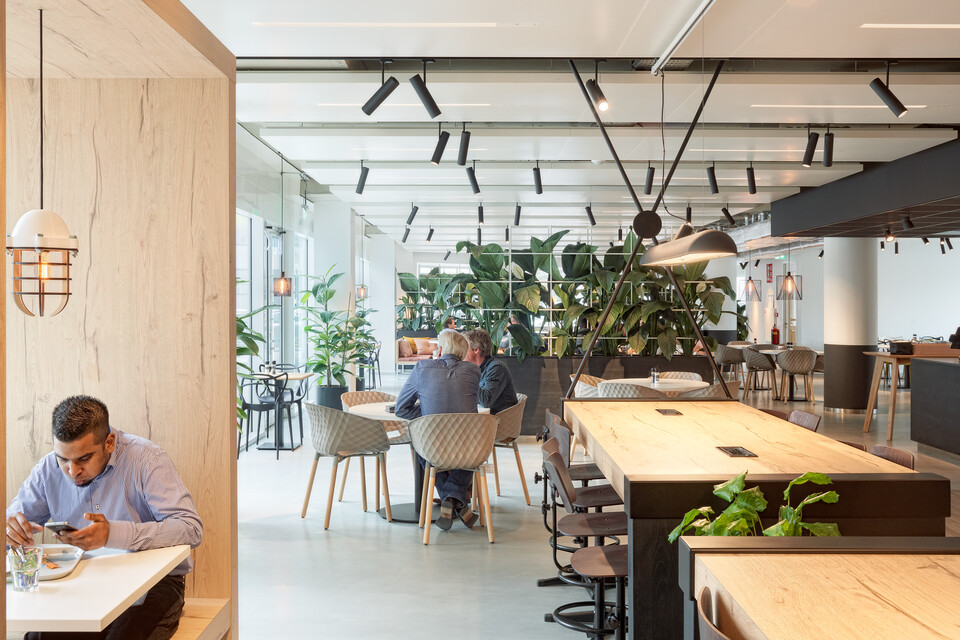 Gispen office project Croonwolter dros in Rotterdam GVBG133