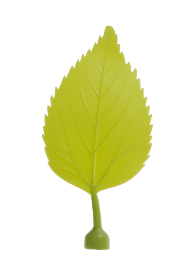 Gispen Leaves magnet 7 green yellow front view