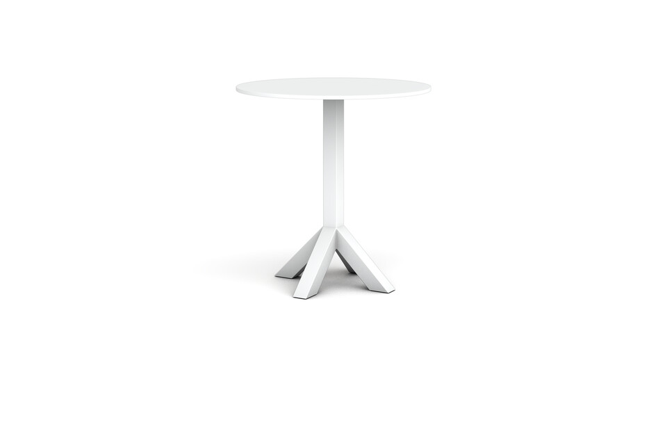 Gispen Dukdalf white high table 100 Round