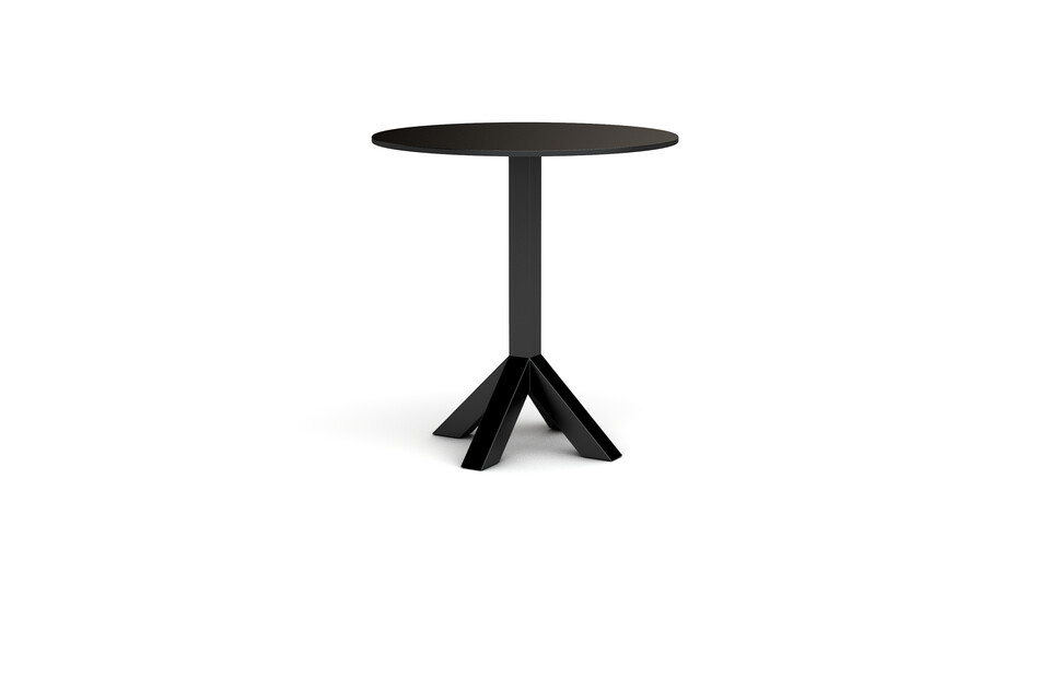 Gispen Dukdalf black high table 100 Round