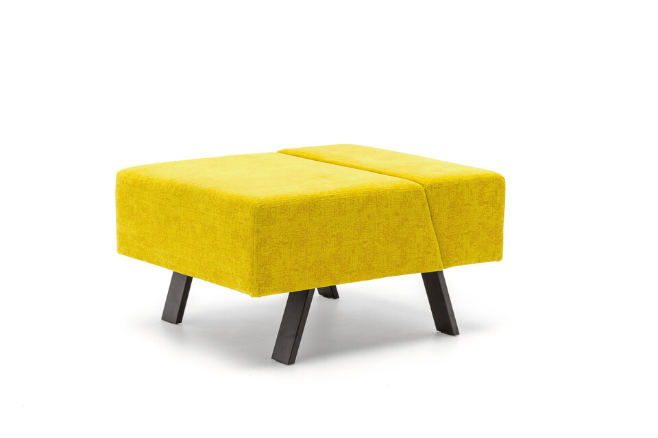 Gispen Sett pouf in matrix 452 front left view