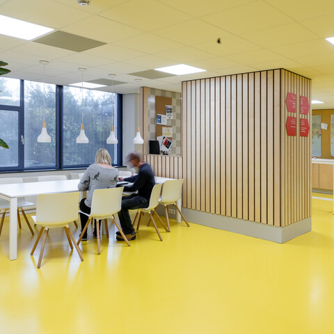 Gispen office project Medecins Sans Frontieress in Amsterdam 00A2164