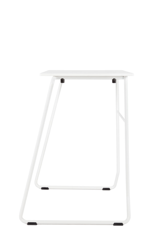 Royal Ahrend 456 seminar table in white right side view